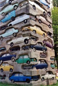 Építőipari vállalkozók autói